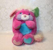 Vintage 1986 TCFC Mattel POPPLES Pink PRIZE Plush