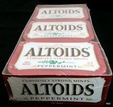 Altoids Strong Mints Peppermint 6 Count Tins Candy Candies Bulk Mint Altoid