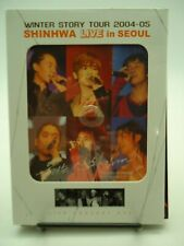 Shinhwa Live in Seoul Winter Story Tour 2004-05 Live Concert DVD Region 3 VGood