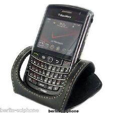 Blackberry Phone Leder TischAufsteller Handy Halterung Klappbar Holder Universal