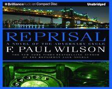 Reprisal by F. Paul Wilson Unabridged CD Audiobook 2015 Hard Plastic Case NEW