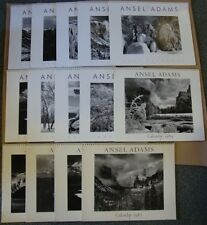 Collection of 14 Ansel Adams Wall Calendars for 1984-87, 1989, 2003-2011