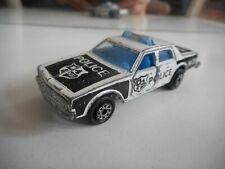 Majorette Chevrolet Impala Police in White/Black