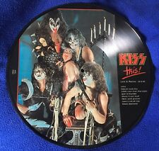 KISS This! Live In Rome 29/09/1980  Lp 33 Rare Unofficial Release Bootleg