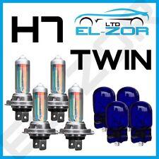 h7 xénon SUPER BLANC 55W Ampoules phare avant feu de Croisement caché 501 x 4