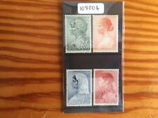 Suriname 1940 Social Welfare Fund (4v Set) (SG 269-272) M/H (108004)