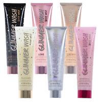 Victoria's Secret Body Wash Glimmer Scrub Exfoliant Glitter Shimmer Soap New