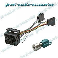 Volkswagen VW RCD300 Retro Fit Adaptor Wiring Harness Lead with Fakra Antenna