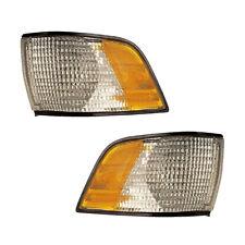 91-96 Buick Century Driver & Passenger Side Marker Lights Pair Set