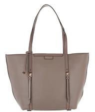Radley London Pennhurst NWT $298 Pebble Leather zip XL Tote Mink Beige Open Top