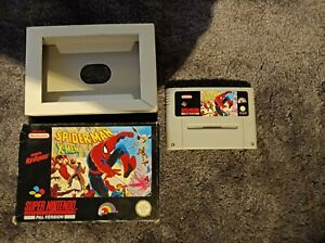 Spiderman X-men SNES Super Nintendo Pal