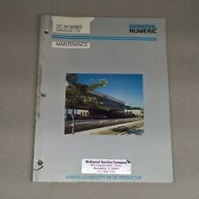 GENERAL NUMERIC DC M SERIES MAINTENANCE MANUAL GN53265E/03