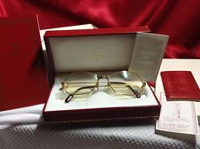 809f6da030f CARTIER PANTHER EYEGLASSES VINTAGE IN GIFT BOX WITH LEATHER CASE AND CLOTH