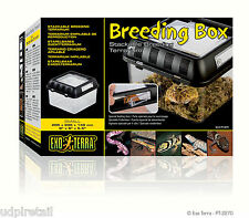 "Exo Terra Breeding Box (S) - 205x205x140 mm (8""x8""x8"") - Item Code PT2270"