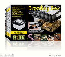 "Exo Terra Breeding Box (S) - 205x205x140 mm (8""x8""x8"") - Item Code PT2270"