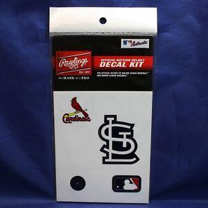 Rawlings MLB St Louis Cardinals Decal Kit