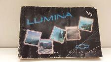 Original 1999 Buick Lumina Bedienungsanleitung Boardmappe in Englisch