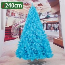 Artificial Sky Blue Christmas Tree Decorations Home Decor Xmas 2 3 4 5 6 7 8 FT