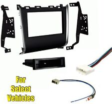 Car Stereo Radio Install Kit Combo for some 2013 2014 2015 Nissan Pathfinder