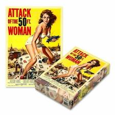 ATTACK OF THE 50FT WOMAN - Zee Company Puzzle ZEE001PZ - 500 Teile Pcs.