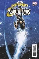Infinity Countdown Champions #1 Deodato Variant Marvel Comic 1st Print 2018 NM