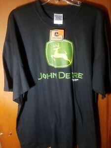 John Deere Logo Green T-Shirt Men's Size XXL