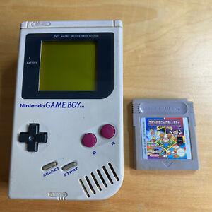 Nintendo Gameboy Original Console + Game