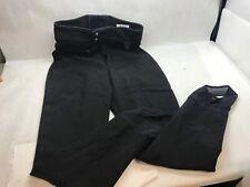 VINTAGE Pair Nils WOMENS Ski Pants BLACK with STIRRUPS Size 10R REGULAR