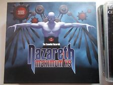 NAZARETH - MAXIMUM XS THE ESSENTIAL NAZARETH - 2004 METRO SLIPCASE 2xCD
