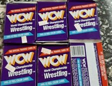 1991 WCW World Championship Wrestling - Cards Six (6) Unopened Packs - Impel