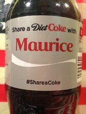 Share A Diet Coke With Maurice Limited Edition Coca Cola Bottle 2014 USA