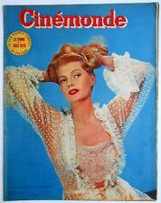►CINE MONDE 931/1952-RITA HAYWORTH -JANE WYMAN -ERROL FLYNN- CHARLES LAUGHTON...