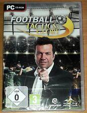Football Tactics & Glory PC Game (PC CD-Rom) *BRANDNEU* Fußball Windows 7, 8, 10