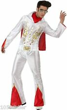 Déguisement Homme Elvis Rockeur XL Costume Adulte Disco Rock Star film