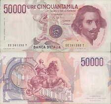"""50.000 lire 1986 """"Bernini"""""""