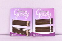 LOT OF 2 Goody Pin It Up Large Roller Bobby Pins, 18 Count ( 36 TOTAL )