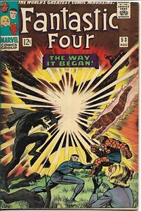 Fantastic Four#53 1966 SECOND BLACK PANTHER