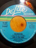 "Kool & The Gang – Celebration / Morning Star Funk/Soul 7"" 45 RPM DE-807"