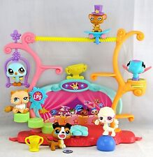 Littlest Pet Shop *LPS* TRICKS n TALENTS SHOW COLLIE DOG #237 Frisbee ~ GIFT BAG