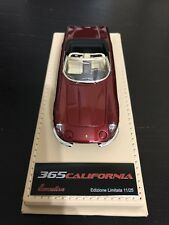 1:43 BBR Deluxe Ferrari 365 California in Rosso Maranello no MR Feeling43 Bosica