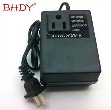 220V 240V to 110V 120V 200W Electronic International Travel Power Converter