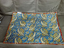 Pottery Barn Rhinebeck Paisley Reversible Bed Sofa Pillow Sham Cover Standard