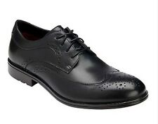 ROCKPORT FAIRWOOD 2 WINGTIP OXFORDS MEN'S BLACK LEATHER DRESS SHOES K74454 11.5