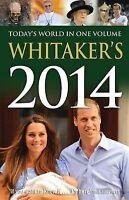 Whitaker's Almanack 2014-ExLibrary