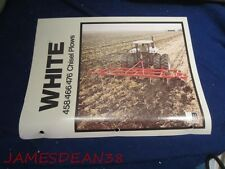 WHITE 458 466 476 CHISEL PLOWS SALES BROCHURE CATALOG PAMPHLET