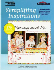 Scrapbook 379 Layout Idea book crop tool 288p tip Christmas Easter Birthday Card