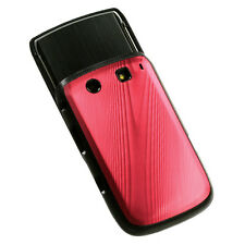 RIM BLACKBERRY TORCH 9800 9810 4G BRUSHED ALUMINUM ACRYLIC CASE RED