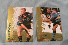 1996 SERIES 3 SIGNATURE GOLD RUGBY LEAGUE CARDS - GOLD COAST CHARGERS