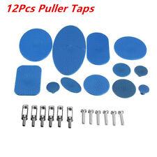Most Slide Hammer Hook PDR Tool 12 Pcs Tabs Dent Repair Tools Glue Pads Work Kit