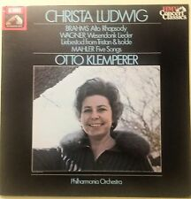 LP-CHRISTA LUDWIG-BRAHMS Alto Rhapsody,WAGNER...UK 1984